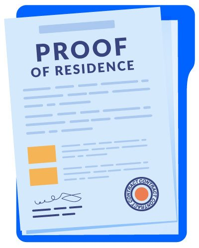 proof-residence